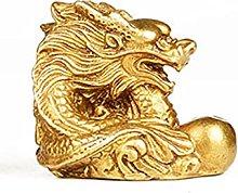 MDROGKUX Giardino Ornamenti Statuetta Bronze
