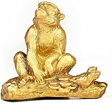 MDROGKUX Rame Zodiac Serie Scimmia Scultura