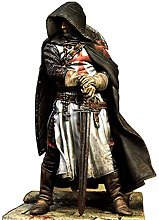 Medievale Manto Nero Samurai Scultura della