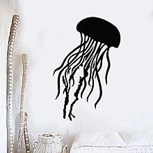 Meduse muro di vinile animale nautico Deca Marine