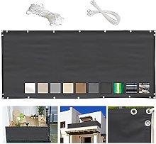 MEEYI Recinzione Copertura per Balcone 90x1700cm