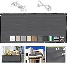 MEEYI Telo frangivento Balcone 90x700cm Copertura