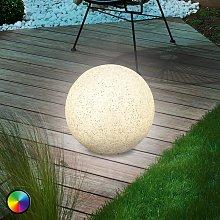 Mega Stone 30 - moderna sfera luminosa solare LED