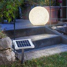 Mega Stone 40 - moderna sfera luminosa solare LED
