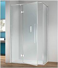 Megius - Box doccia angolare 110x75 cm anta fissa