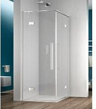 Megius - Box doccia angolare 75x80 cm porta