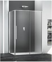 Megius - Box doccia angolare 80x100 cm apertura