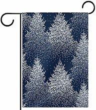 MEITD - Bandiera da giardino con alberi su