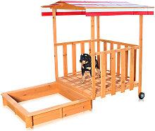 Melko Sandbox Sandbox con copertura e protezione