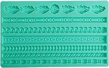 Mengmengda - Stampo in silicone 3D per pasta