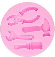 Mengmengda - Stampo in silicone 3D per zucchero,