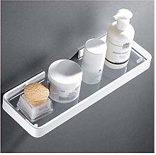 Mensola bagno DealMux in vetro temperato, mensola