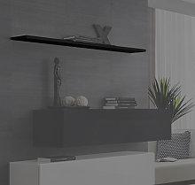 Mensola modello Berit 120 in colore nero