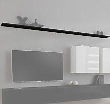 Mensola modello Berit 180 in colore nero