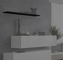 Mensola modello Berit 60 in colore nero