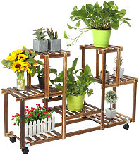 Mensola per fiori in legno Mensola per fiori