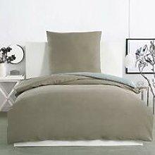 MercatoXL Set biancheria da letto in cotone 100%,