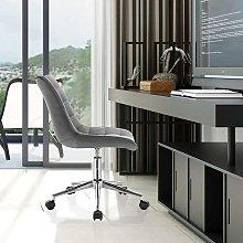 MercatoXL Sgabello modello di velluto grigio scuro