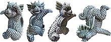 MERIGLARE 4X Figurine del Vassoio della Soglia