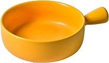 MERIGLARE Ciotola per zuppa rotonda Farina