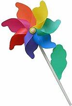 MERIGLARE Mulino a Vento Iris per Bambini in