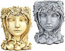 MERIGLARE Ornamenti per Fioriere Succulente in