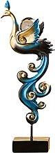 MERIGLARE Resina Phoenix Statue Figurine Ornamento