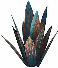 MERIGLARE Scultura di Tequila Blu in Metallo