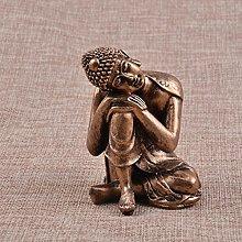 MERIGLARE Statua di Buddha in Miniatura da