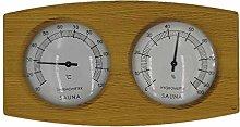 MERIGLARE Termometro a Doppio Contatore per Sauna