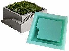Merkts Stampo in silicone per vaso di fiori in