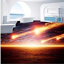 Meteorite Che Cade 3D Pavimento Piastrella Carta