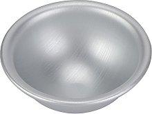 Mezza palla, teglia in lega di alluminio pulita