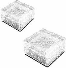 MG REAL Solare Terra Luci Esterne, LED Solare Ice