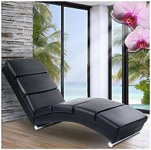 Miadomodo Luxury - Poltrona relax chaise longue