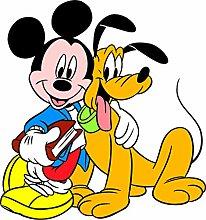 Mickey Decal Cartoon Disney Mickey Pippo Pluto
