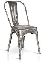 Milani Home - Sedia Moderna Di Design In Metallo