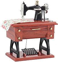 Mini macchina da cucire carillon retr¨° classica