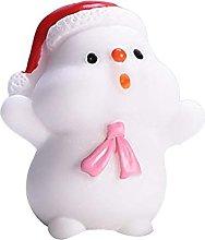 Mini resina fai da te Babbo Natale pupazzo di neve