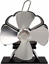 Mini ventilatore a 4 pale, termoregolato,