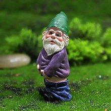 Miniatura Ubriaco Gnomi Figurine,Divertente Mini