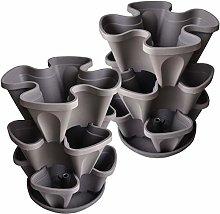Minify - Vaso da fiori impilabile in set da 3 o 6