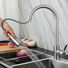 Miscelatore cucina rubinetto con doccetta