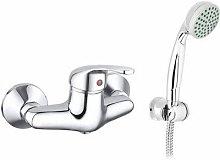 Miscelatore monocomando vasca doccia esterno serie