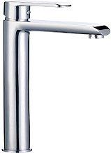 Miscelatore rubinetto lavabo appoggio bocca alta
