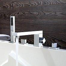 Miscelatore vasca-doccia cromato - Bergamo