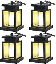 Mission Solar LED Lantern, vintage solare