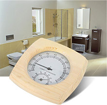 Misuratore di temperatura e umidita in legno per