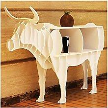 MKMKT Scaffali per Libri a Forma di Bestiame,
