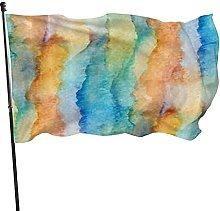 MOBEITI 3x5 piedi in poliestere colori vivaci e